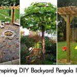 24 Inspiring DIY Backyard Pergola Ideas