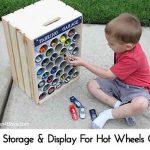 DIY Storage & Display For Hot Wheels Cars