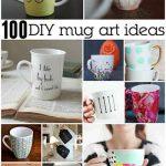 100+ Awesome DIY Coffee Mug Art Creations
