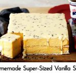 Homemade Super-Sized Vanilla Slice