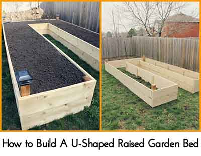 How to Build A UShaped Raised Garden Bed Lil Moo Creations – Plans For A Raised Garden Bed