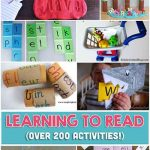 200+ Learning To Read Activities