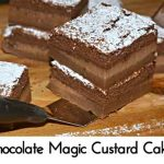 Chocolate Magic Custard Cakes