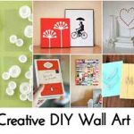 100 Creative DIY Wall Art Ideas