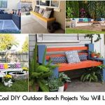 10 Cool DIY Outdoor Bench Projects You Will Love