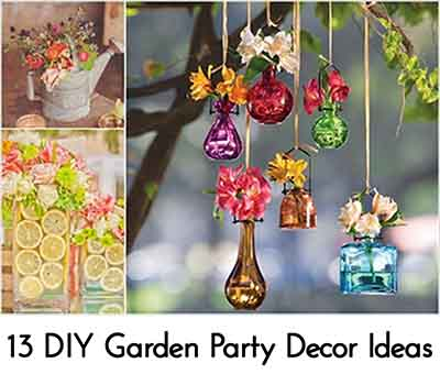 13 Creative DIY Garden Party Decor Ideas - Lil Moo Creations