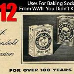 112 Uses For Baking Soda From WWII You Didn't Know