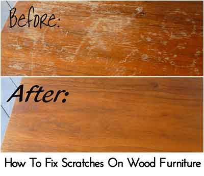 How to remove white heat stains on wood table lil moo - Restaurar muebles de madera ...