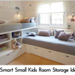 12 Smart Small Kids Room Storage Ideas