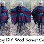 Cosy DIY Wool Blanket Coat