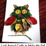 Leaf Animal Crafts to Make this Fall