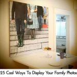 25 Cool Ways To Display Your Family Photos