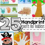 25 Handprint Crafts For Toddlers