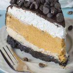 Pumpkin Cheesecake with Oreo Crust