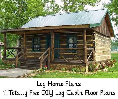 Log Home Plans 11 Totally Free Diy Log Cabin Floor Plans