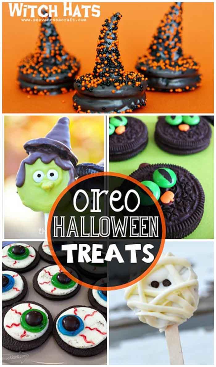 Fun Oreo Halloween Treats to Make - Lil Moo Creations