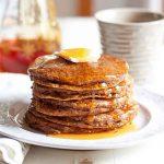 Pumpkin Chia Pancakes