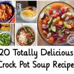 20 Totally Delicious Crock Pot Soup Recipes