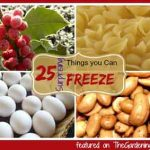 25+ Surprising Foods You Can Freeze