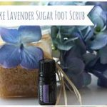 Homemade Lavender Sugar Scrub For Smooth Feet