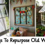 38 Ways To Repurpose Old Windows