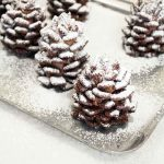 Quick & Easy Snowy Chocolate Pinecones Recipe