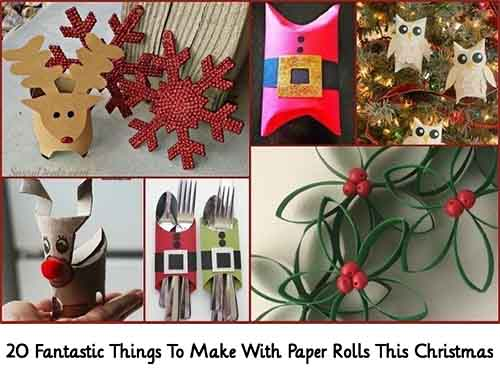 20 fantastic things to make with paper rolls this for Things to make with paper