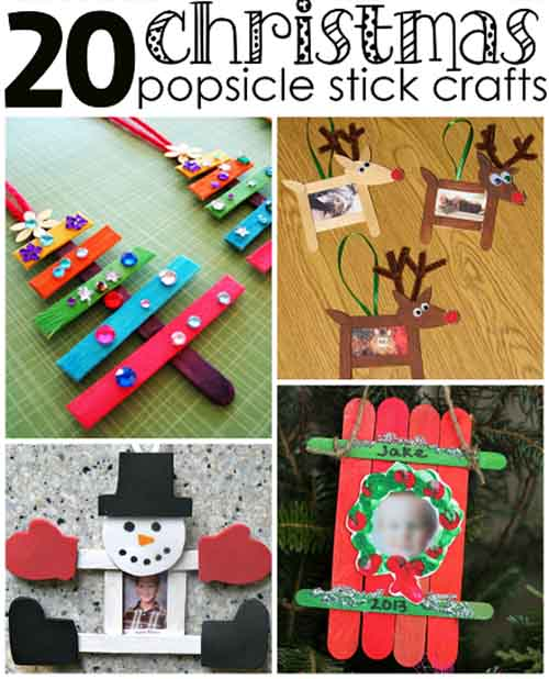 Christmas Popsicle Stick Crafts For Kids To Make Lil Moo Creations