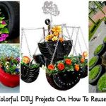Creative Colorful DIY Projects On How To Reuse Old Tires