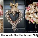 22 Shabby Chic Wreaths That Can Be Used All Year Round