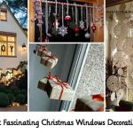 30 Most Fascinating Christmas Windows Decorating Ideas