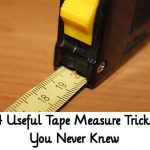 4 Useful Tape Measure Tricks You Never Knew
