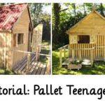 DIY Tutorial: Pallet Teenager Cabin