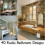 40 Rustic Bathroom Designs