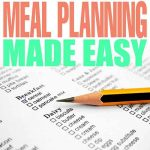 Meal Planning Made Easy (Free Printable)