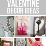 20 Inexpensive Valentine Decor Ideas