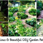41 Ingenious & Beautiful DIY Garden Path Ideas