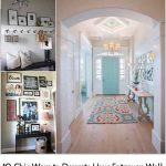 10 Chic Ways to Decorate Your Entryway Wall