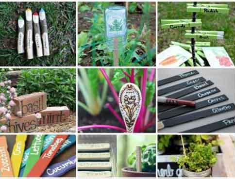 Garden Marker Ideas Lil Moo Creations