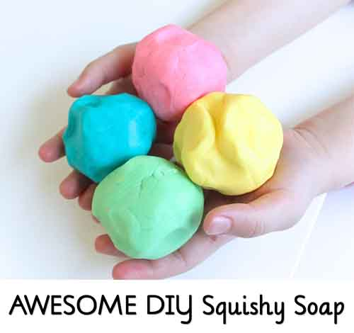 Diy Squishy Soap : AWESOME DIY Squishy Soap - Lil Moo Creations