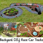Backyard DIY Race Car Tracks