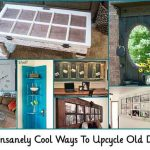 20 Insanely Cool Ways To Upcycle Old Doors
