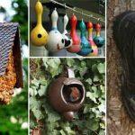 Awesome DIY Bird Houses for A Garden