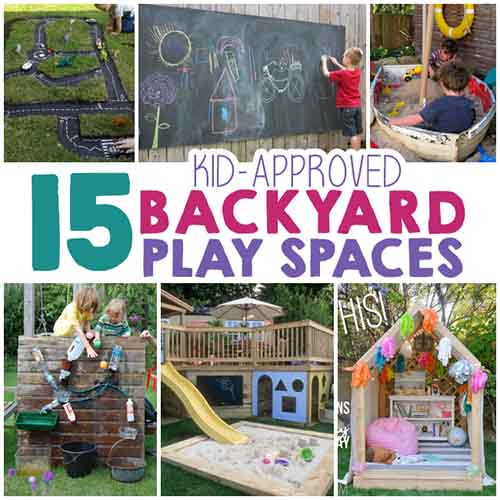 Backyard Play Space Ideas For Kids Lil Moo Creations - Backyard play ideas