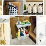 24 DIY Storage Ideas To Improve Your Small Bathroom