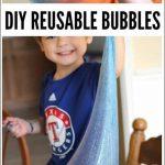 Play Recipe: Giant Reusable Bubbles