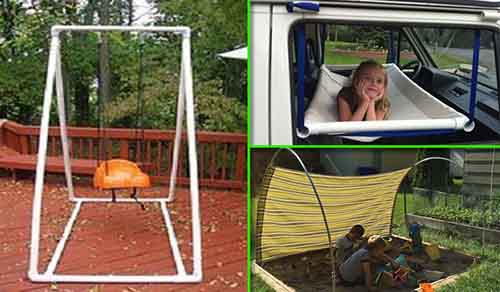 20 easy pvc pipe projects for kids summer fun lil moo for Pvc pipe crafts