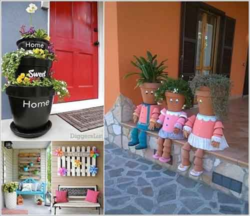 front porch decorating ideas summer small on a budget for fall lovely decor