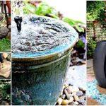 26 Wonderful Outdoor DIY Water Features