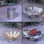 DIY Tin Can Grill